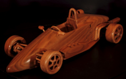 FORMULA PANDA JUNIOR WOOD SCALE MODEL